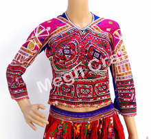 Kutch Banjara Back less Blouse-Navratri Special Blouse-Mirror work Blouse top
