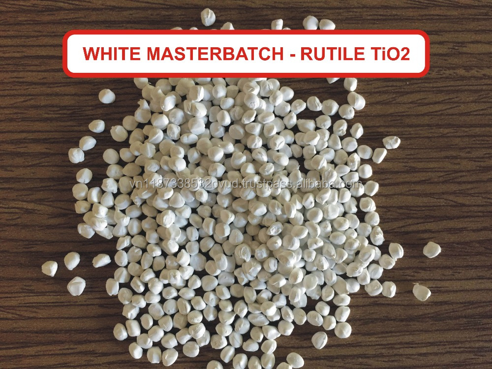 WHITE MASTERBATCH WITH HIGH QUALITY TITANIUM DIOXIDE
