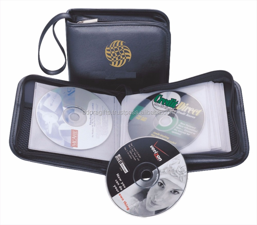 2017 new durable Portable DVD player case/Top Grade Portable CD Wallet Disc Holder for Car/office/home or travel