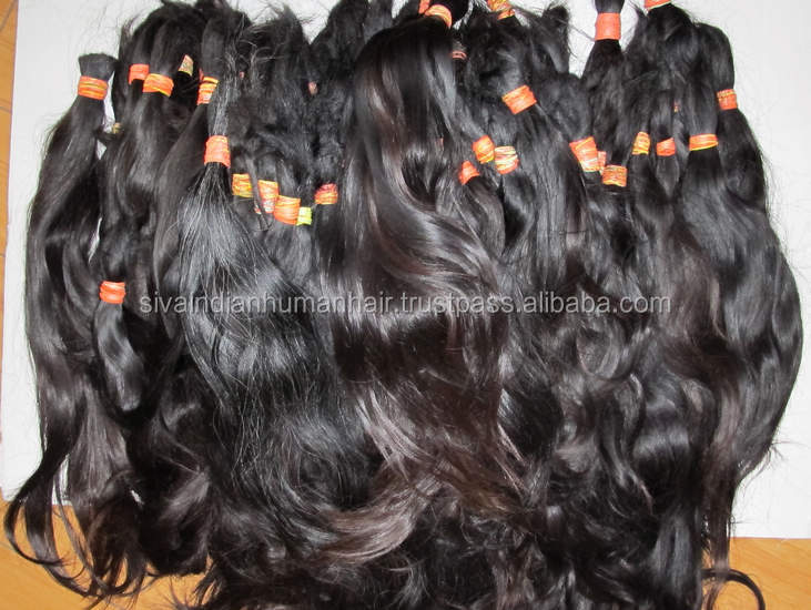 100% Remy Virgin Human hair Extension cheap Unprocessed 8A, Silky straight Black ,gray Raw Brazilian Hair for Women