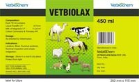Vetbiolax ( Detoxicane and laxative )