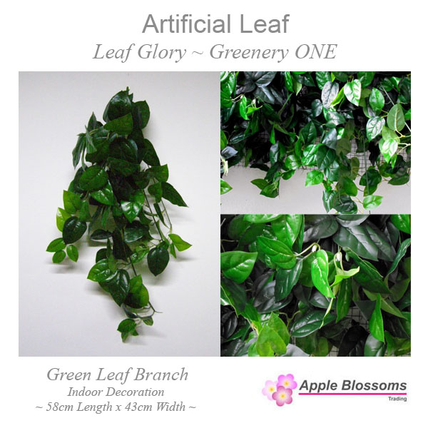 Artificial Leaf ~ Leaf Glory Greenery ONE