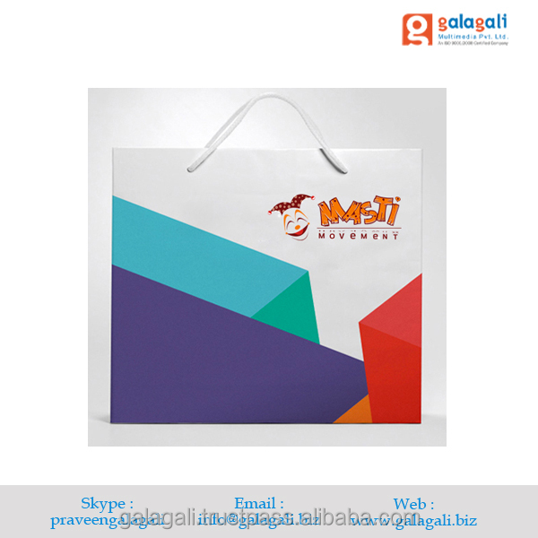 Top Quality Shopping Bag Logo Design and Printing Service at Cheap Price