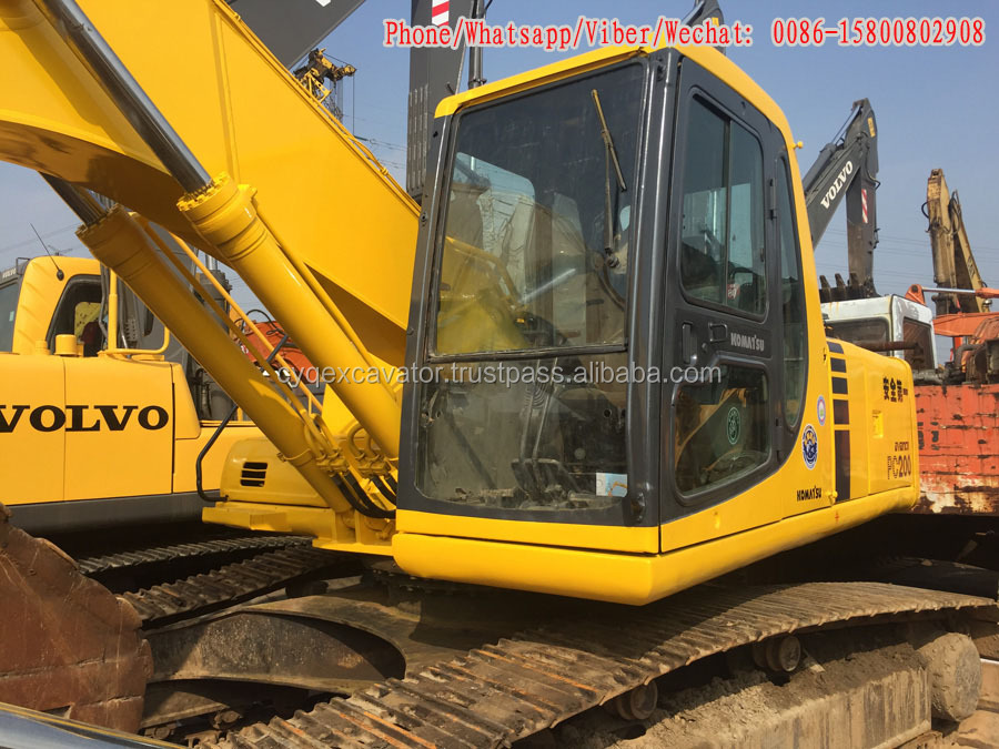 Japan original Komatsu Used Hydraulic Excavator PC200-6 For Sale