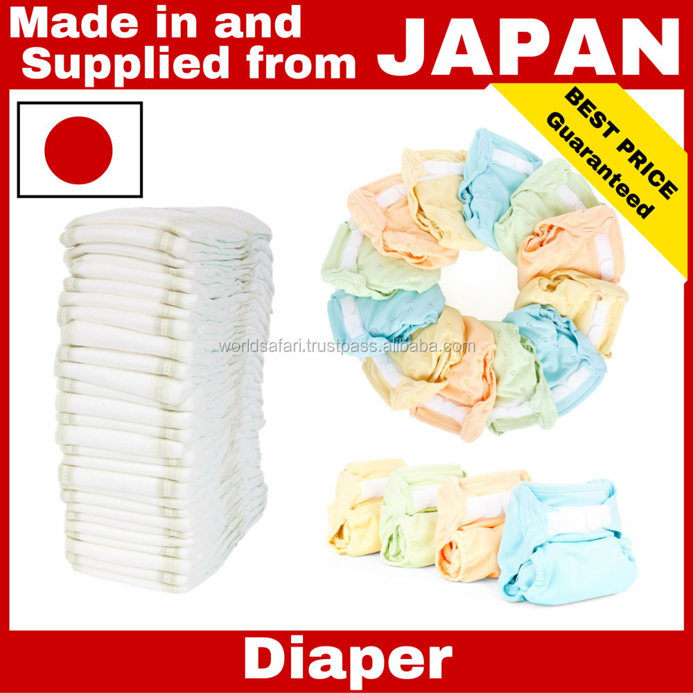 High quality used diaper machine Japanese Baby Diaper for baby , children , adult , Japanese brands