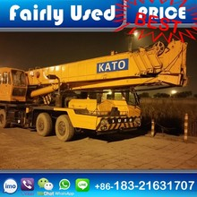 Used KATO Tadano 50 ton Truck Crane NK500E for sale