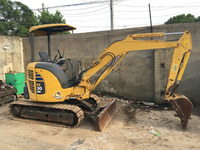 certificate USED condition second-hand hydraulic Japan kotsu pc30/35 pc 3 ton , 3.5 ton mini small excavator digger