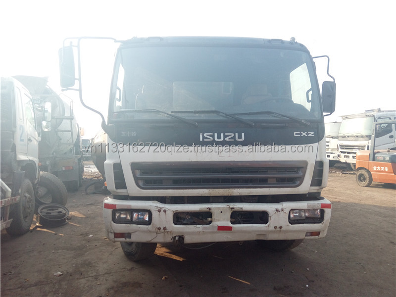 Used ISUZU dump truck in good condition, cheap price for sale