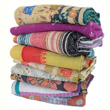 Wholesale lot Vintage Kantha Quilt Cotton Quilts Indian Handmade