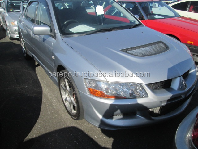 EXPORT FROM JAPAN RIGHT HAND DRIVE JAPANESE USED CARS FOR MITSUBISHI LANCER GSR EVOLUTION 8 F6 2003