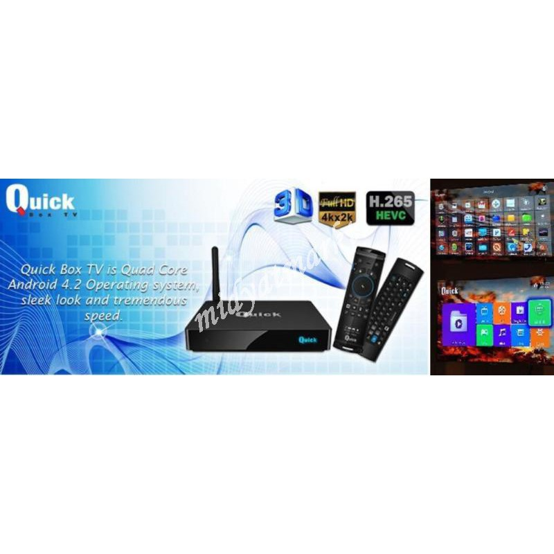 Android 4.2 TV Box Quad Core Smart-Mini-PC TV Box XBMC