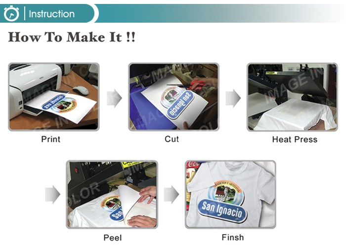 Inkjet Light Heat Transfer Paper