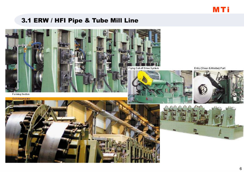 ERW / HFI Pipe Mill Line