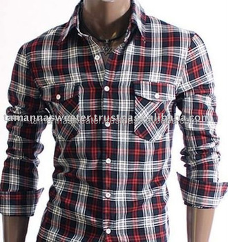 MEN'S 100% COTTON CASUAL SHIRT