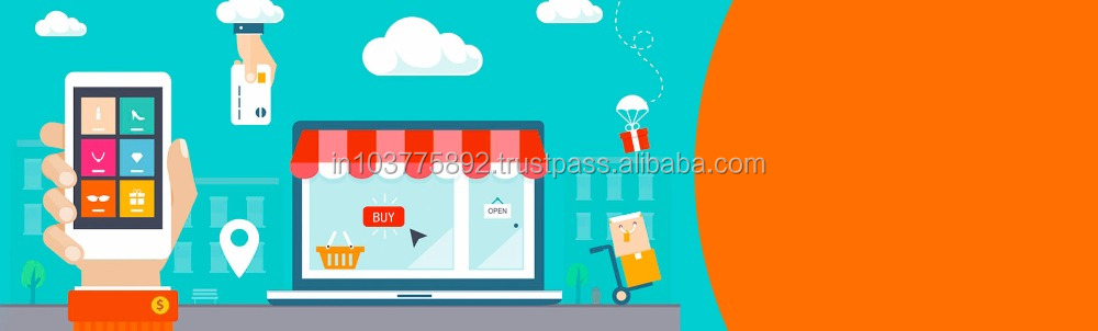 E commerce Website designing and development India Instant Food