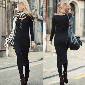 Women Dress Ladies New Fashion Clothes Wearing Black Color 2015 Product : OEM-111