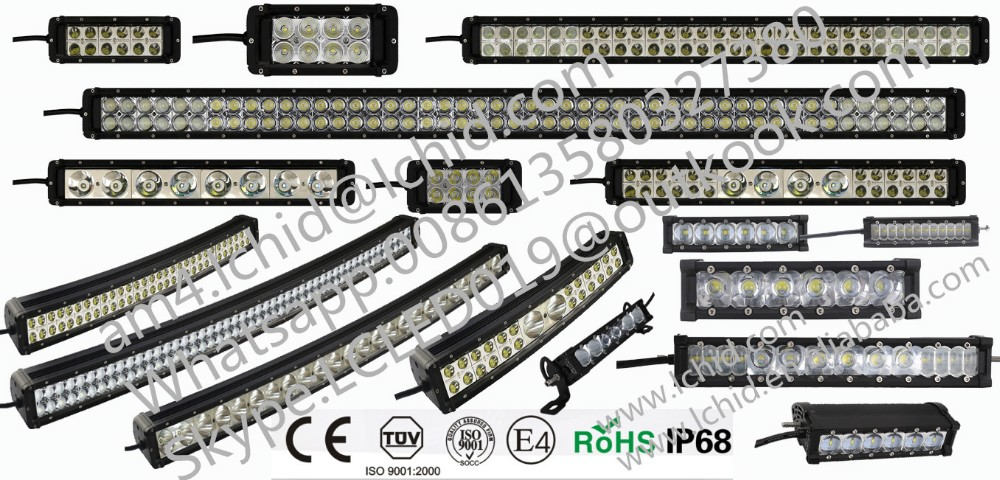 New car accessories 10inch 40W 4000lm 12/24V LED light bar offroad 4x4 led off road light bars for truck led spot light bar IP68