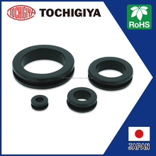 TM-NG series RoHS Japan Rubber Grommet EPDM black ring hole 2D 3D CAD Software design