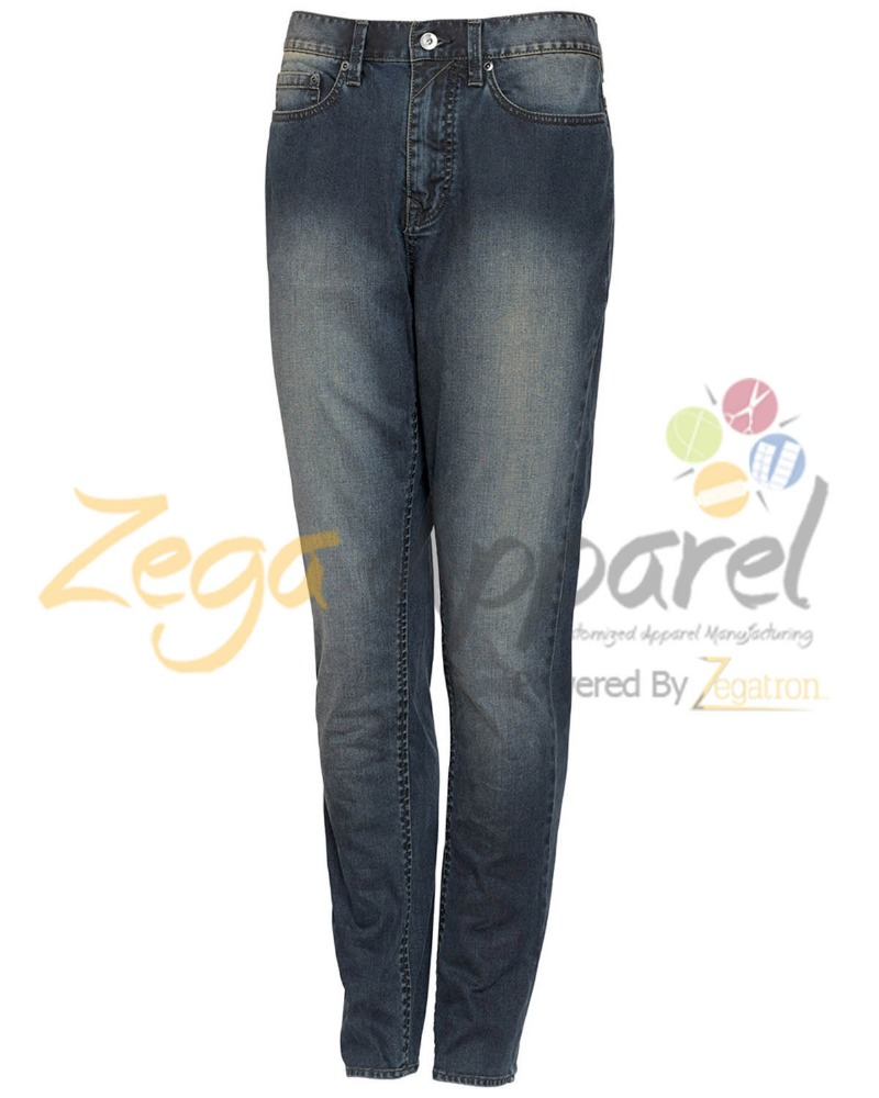 Zegaapparel Hydroplane mens washed cotton denim jeans