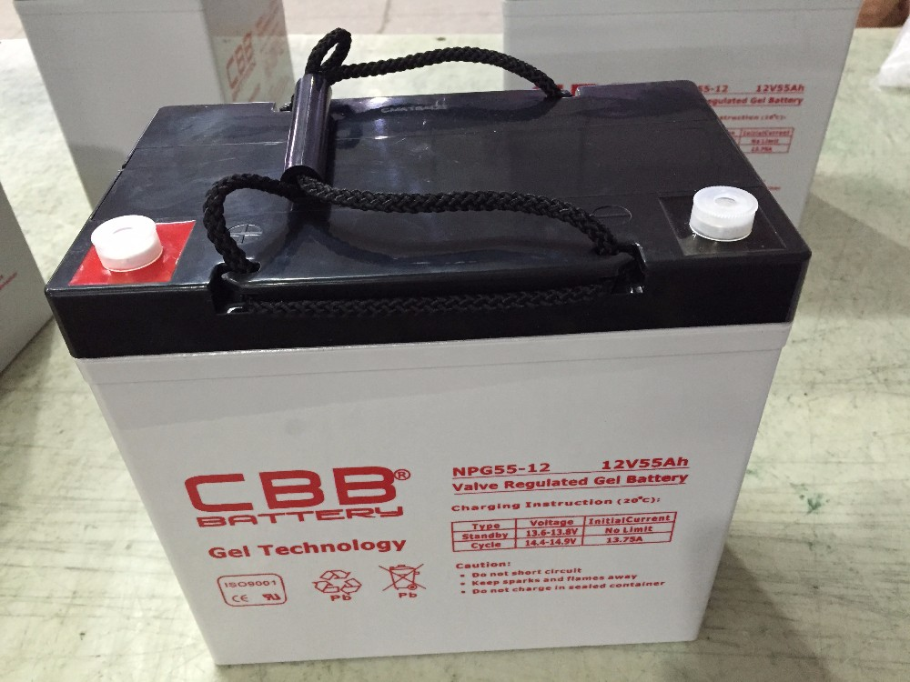 12V 55Ah Solar Gel Battery For Marine
