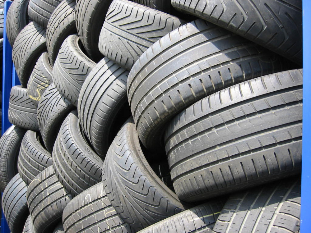 Used high performance car tires