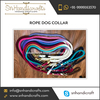 High Quality Smooth and Durable Rope Dog Collar Available for Wholesale Purchase