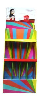 Paper Display Shelf For Supermarket