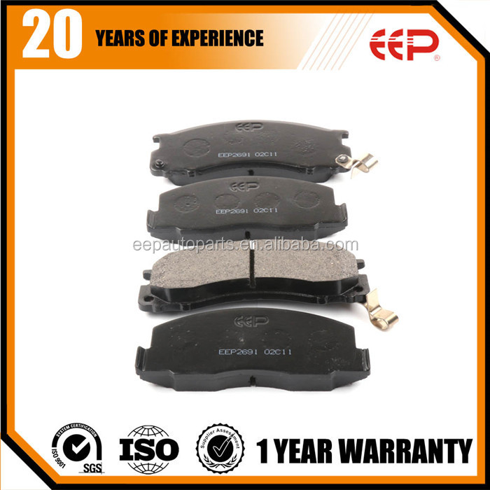 Disc brake pads set for toyota Previa TCR10 automobile parts