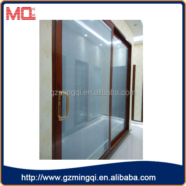 Glasses Without Frame On Bottom : China aluminum double tempered glass doors interior ...