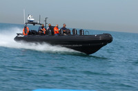 Rigid Hull Inflatable Boat for sale - Model RIB 9.5 Anti Piracy. Made in the UAE