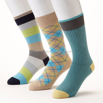 Mens dress socks, Men's high knee socks, Knitted high quality socks from Bangladesh