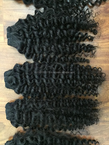 "Beauty Brazilian Kinky Curly Virgin Hair Extension 8""-30"" 3pcs lot Afro Kinky Curly Hair"