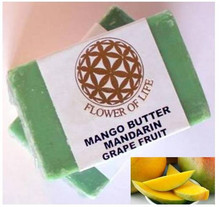 Top sale low prices best supplier Mango Butter Toilet Soap with Grapefruit Flavour for Refreshing Skin