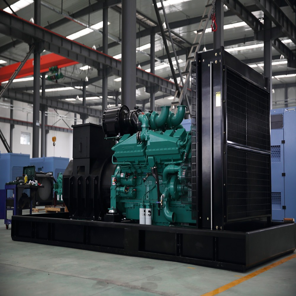 2000kVA big power diesel generator set with engine 12V4000G63
