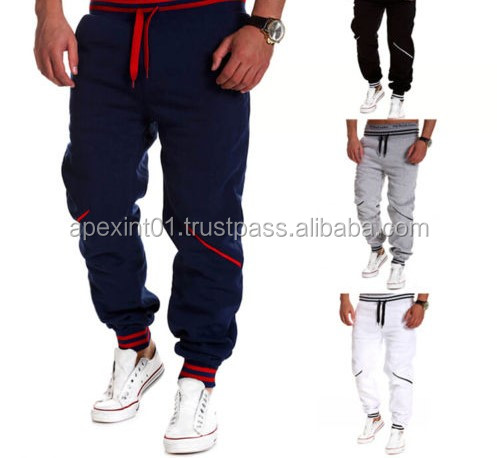 Gym Fitted Bottoms,New 2015 Golds Gym Fitness Sports Pants Men Outdoor Fashion Sweat Pants Baggy Jogger-Sweat pants