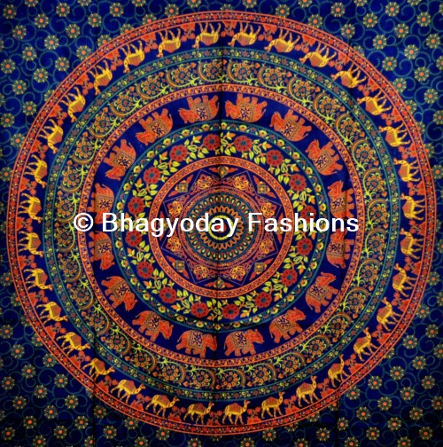 indian wandbehang mandala tapisserie handgefertigte. Black Bedroom Furniture Sets. Home Design Ideas