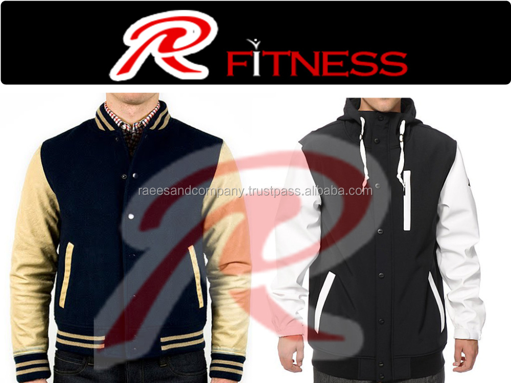2015 new fashion custom apparel, varsity jacket factory