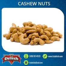 Roasted Taste Cashew Nuts Available with High Health Benefits