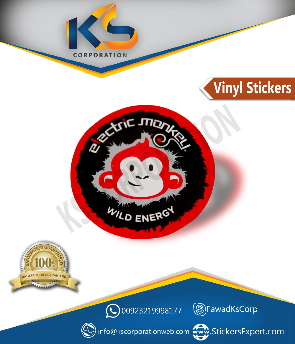 Custom die cut stickers waterproof custom vinyl wall stickers