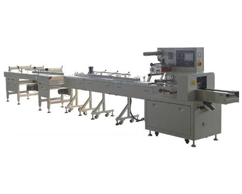 MP250BCH Rotary Up-paper Pillow Packing Machine