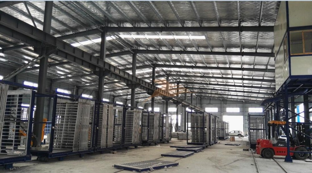 Patent Protected Sandwich Panel Production Line Rational Price