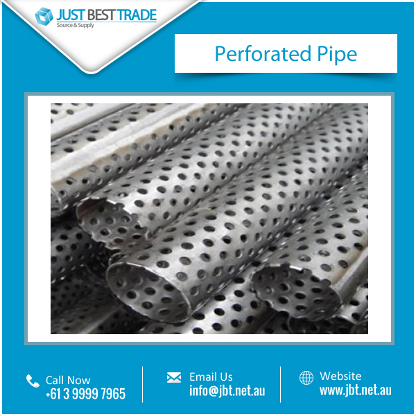 Standard Quality Perforated Pipe Available from Reputed Supplier