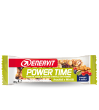 Enervit Power Time 35g Bow with 24 snacks - Dried Fruit - Nut&Chocolate - Peanuts&Blueberries - Quinoa - Cereals