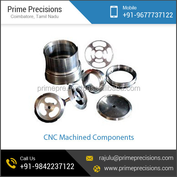 Standard Quality Solid Material CNC Machined Components for Bulk Buyers