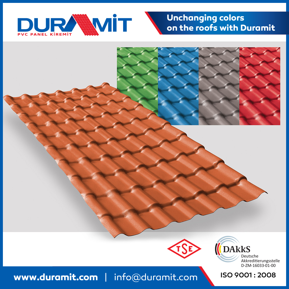 Duramit SYNTHETIC SPANISH ROOF TILE
