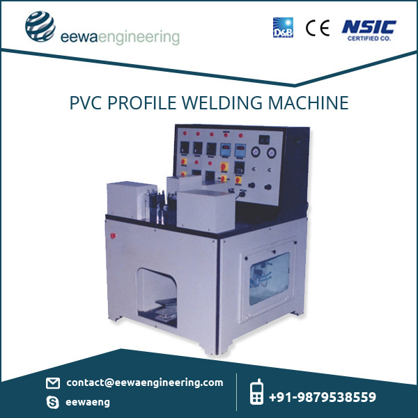 Reasonably Priced Electrical PVC Profile Welding Machine with Superior Performance for Sale