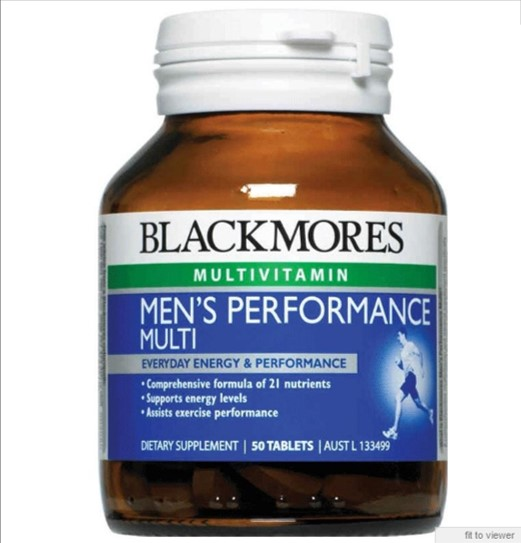 Blackmores Mens Performance Multitabs 50s