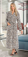 ladies polar fleece long pajama gown Turkish quality