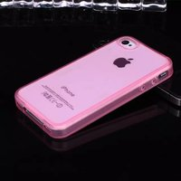 Super clear slim TPU protective phone case for iphone 4S