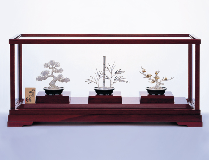 Bonsai , Silver Craft , Japanese traditional work